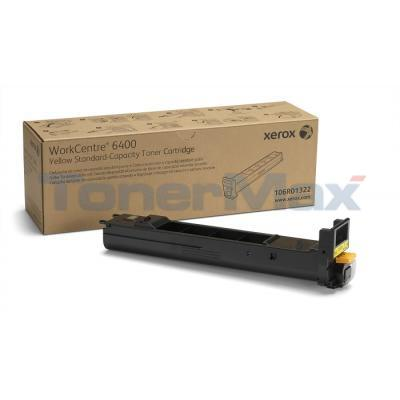 XEROX WORKCENTRE 6400 TONER CTG YELLOW 8K